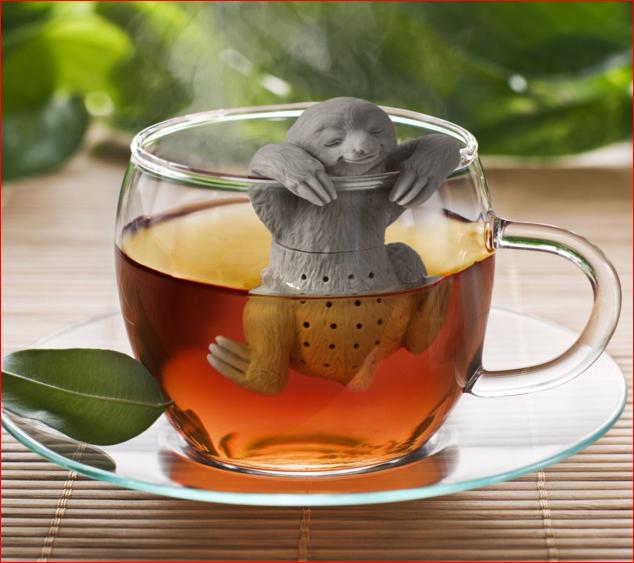 Sloth tea steeper