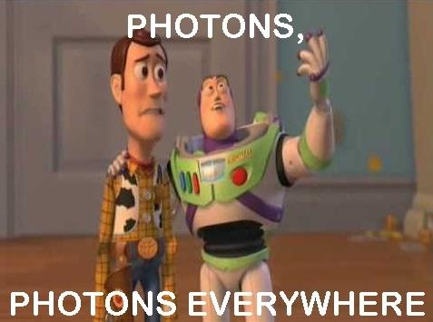 PHOTONS EVERYWHERE